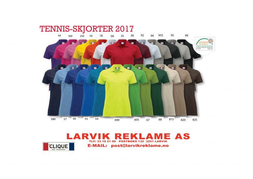Tennis-skjorter